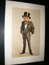 Vanity Fair Print 1888 Thomas Wallace Russell, Irish